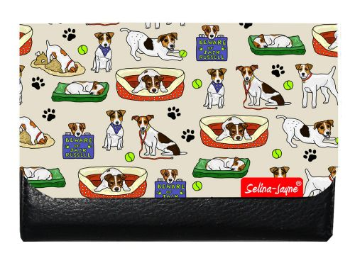 Selina-Jayne Jack Russell Limited Edition Designer Small Purse